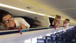 azafatas de vuelo en instagram
